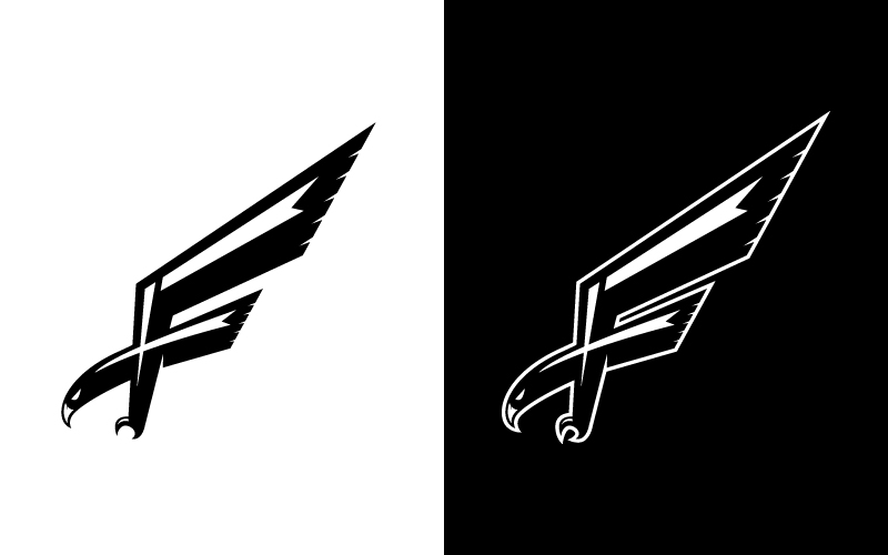 Falcons hockey logo