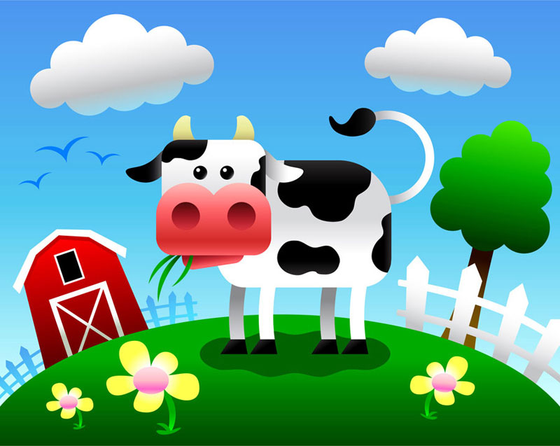 Cow cartoon - Brian Goff Design & Illustration | Freelance Graphic ...