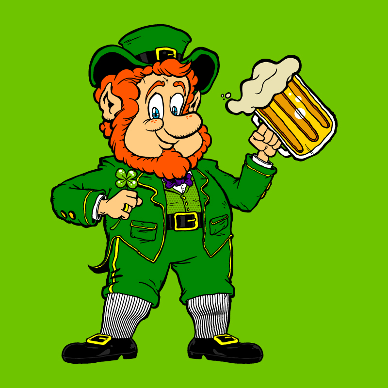 Leprechaun cartoon