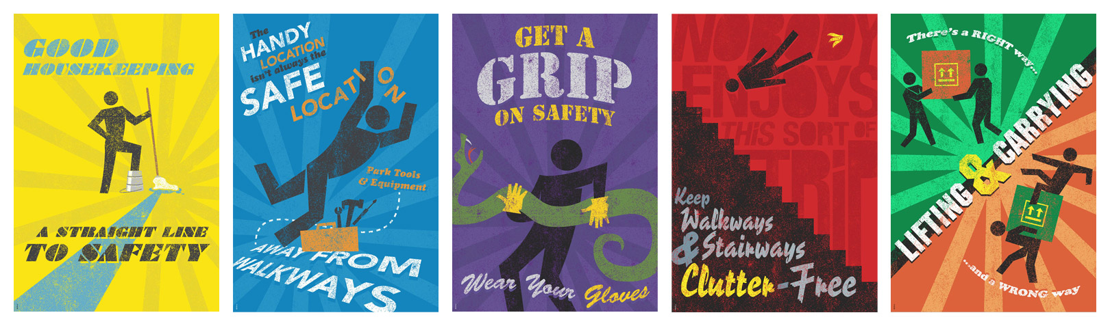 Workplace Safety Posters Brian Goff Design