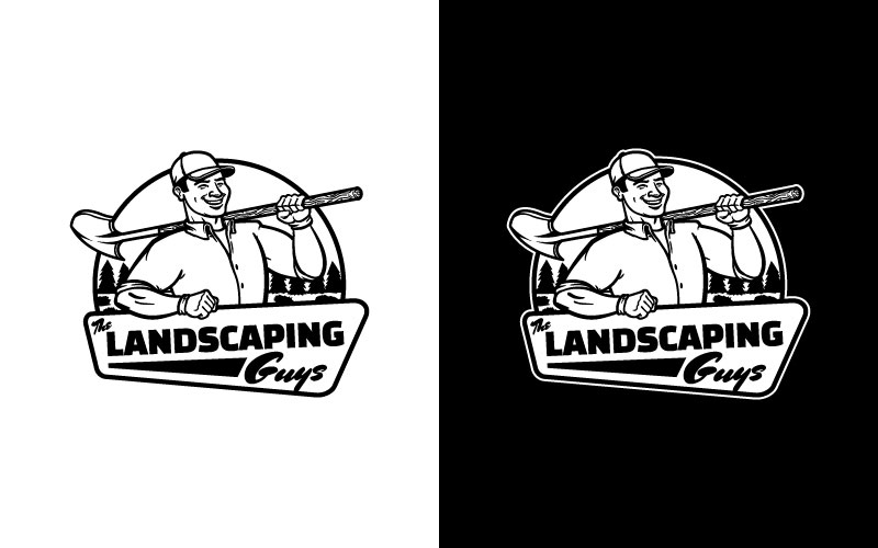 The Landscaping Guys logo