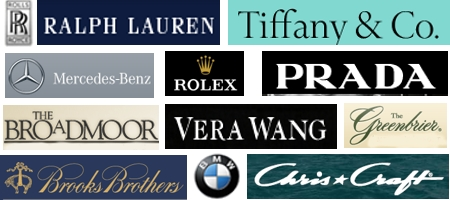 Luxury logos research