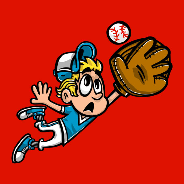 Baseball Kid cartoon