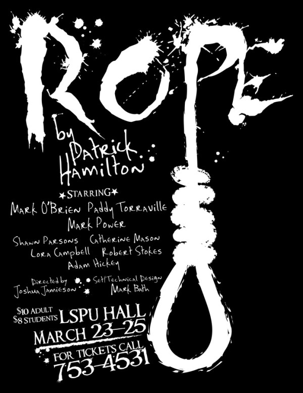 Rope theater poster