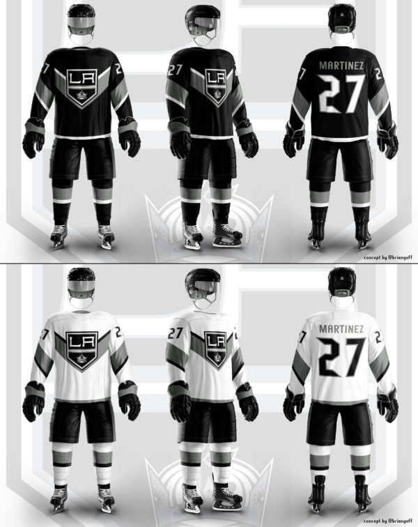 Los Angeles Kings jersey concept