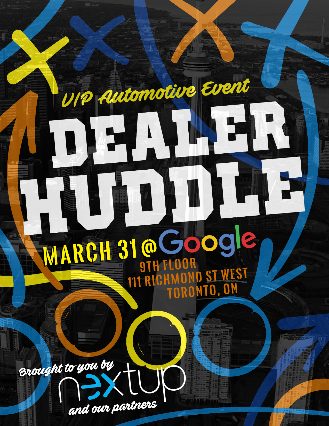 dealer huddle graphic